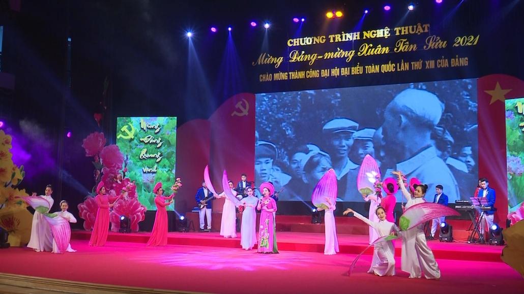 Chương trình nghệ thuật mừng Đảng, mừng Xuân, chào mừng thành công Đại hội Đảng lần thứ XIII