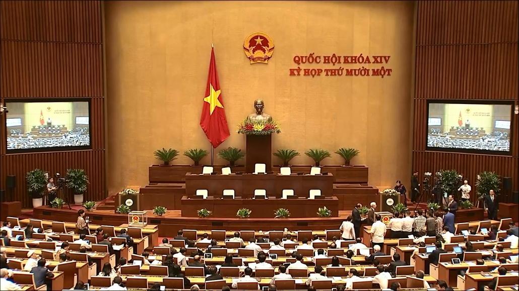 Quốc hội thông qua Nghị quyết miễn nhiệm Thủ tướng Chính phủ và Chủ tịch nước