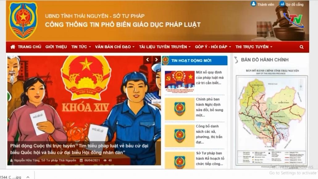 Phát động Cuộc thi trực tuyến Tìm hiểu pháp luật về bầu cử đại biểu Quốc hội và đại biểu HĐND