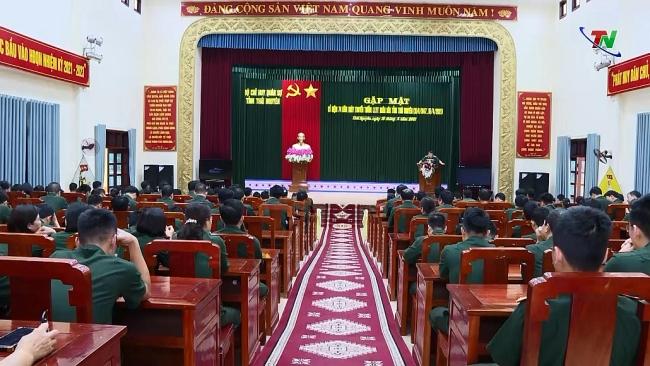 Gặp mặt kỷ niệm 74 năm ngày truyền thống lực lượng vũ trang tỉnh