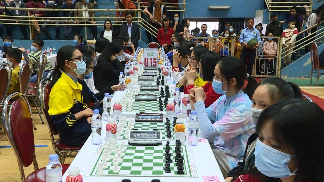 Khai mạc Giải cờ vua các nhóm tuổi miền Bắc lần thứ V năm 2020