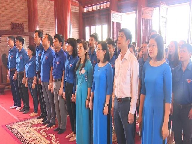 Tỉnh Đoàn Thái Nguyên dâng hương, tưởng niệm 60 liệt sỹ thanh niên xung phong Đại đội 915