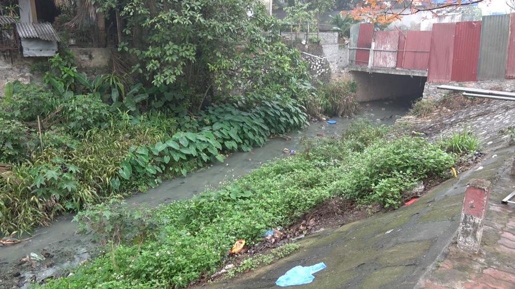 Ô nhiễm suối Làng Đanh, phường Tân Thịnh, thành phố Thái Nguyên