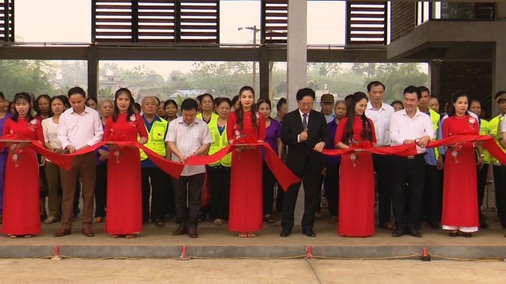Khánh thành làng văn hóa Seamaul tại huyện Định Hóa