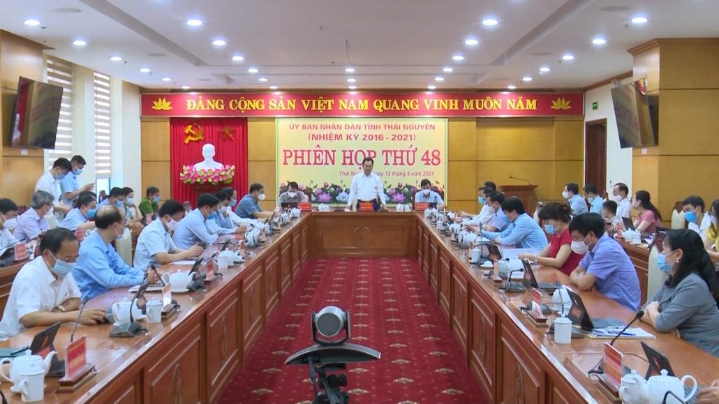 Phiên họp toàn thể lần thứ 48 của UBND tỉnh Thái Nguyên