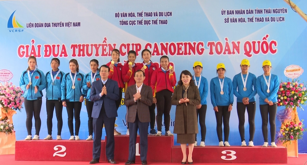 Giải Đua thuyền Cup Canoeing toàn quốc 2020: Thái Nguyên xếp thứ 2 toàn đoàn