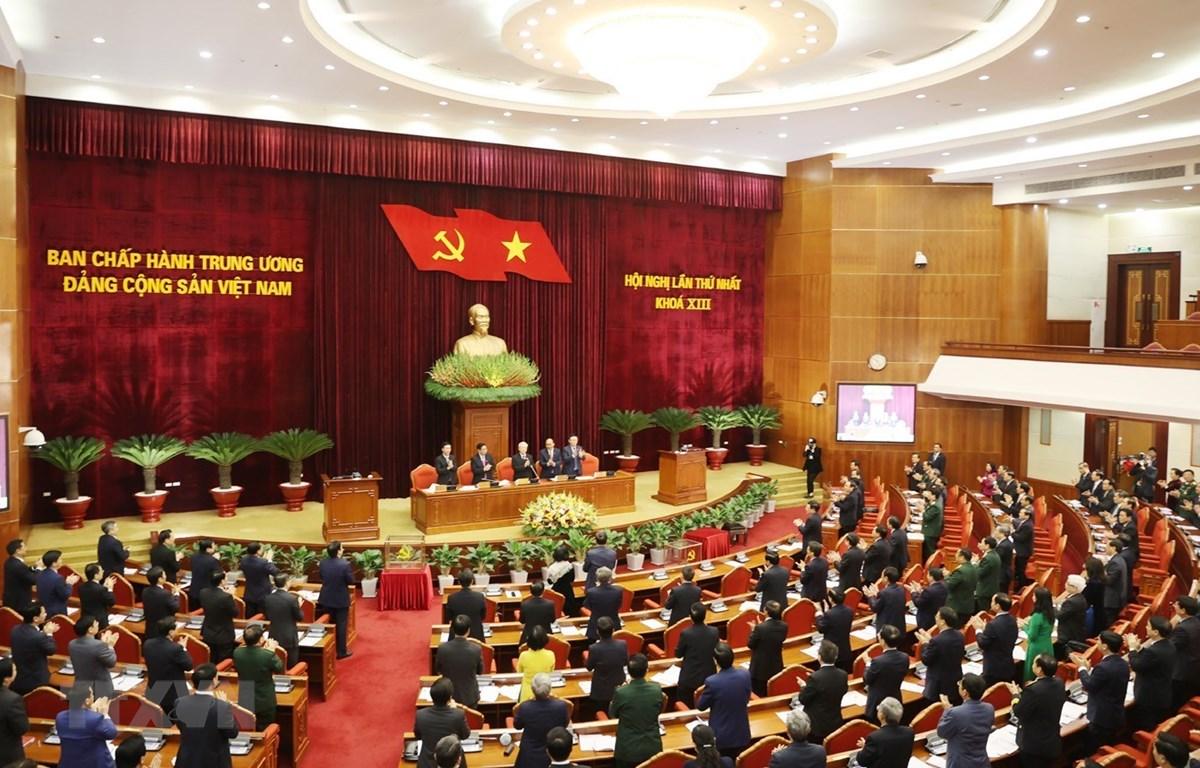 Hội nghị Ban Chấp hành TW Đảng khóa XIII: Danh sách Bộ Chính trị