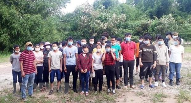 Quảng Ninh bắt giữ và cách ly 33 đối tượng nhập cảnh trái phép