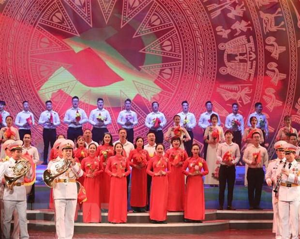 Tái hiện hành trình vĩ đại của dân tộc Việt Nam trong 75 năm qua