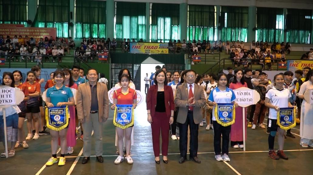 Khai mạc giải thể thao hữu nghị Việt Nam - Lào 2020