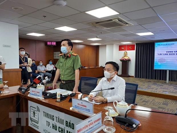 Khởi tố vụ án hình sự lây lan dịch COVID-19 ở Thành phố Hồ Chí Minh