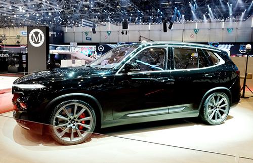 VinFast ra mắt xe SUV đặc biệt tại triển lãm Geneva